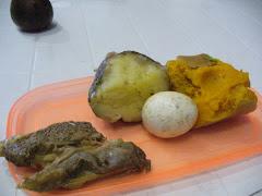 Alimentación díaria de HIV y TBC