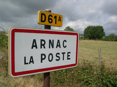 Quelques communes improbables...  Arnac