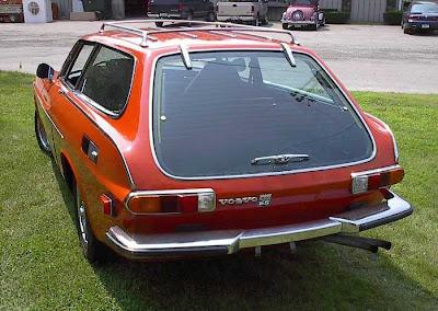 Volvo 1800 ESC red