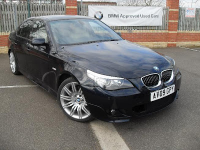 BMW 5 Series Saloon 525d M Sport