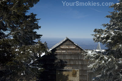 Brutal record breaking cold weather at Mount LeConte recorded in the GSMNP