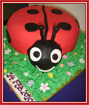 Ladybug cake