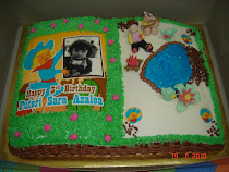 Open-book-cake with cowboy theme