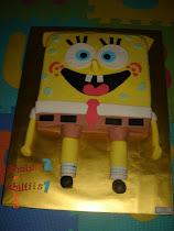 SPONGEBOB SQUAREPANT Cake