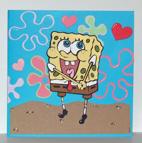 spongebob valentine - Spongebob Valentine Cards