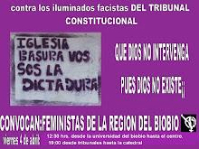 AFICHE COLECTIVA LESBICA FEMINISTA AUTÓNOMA MAFALDAS, CONCEPCIÓN