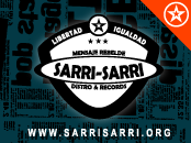 Sarri Sarri, Distro &amp; Records, Ubicada en &quot;LA GALERA&quot;, SAN IGNACIO n 75, LOCAL n 31