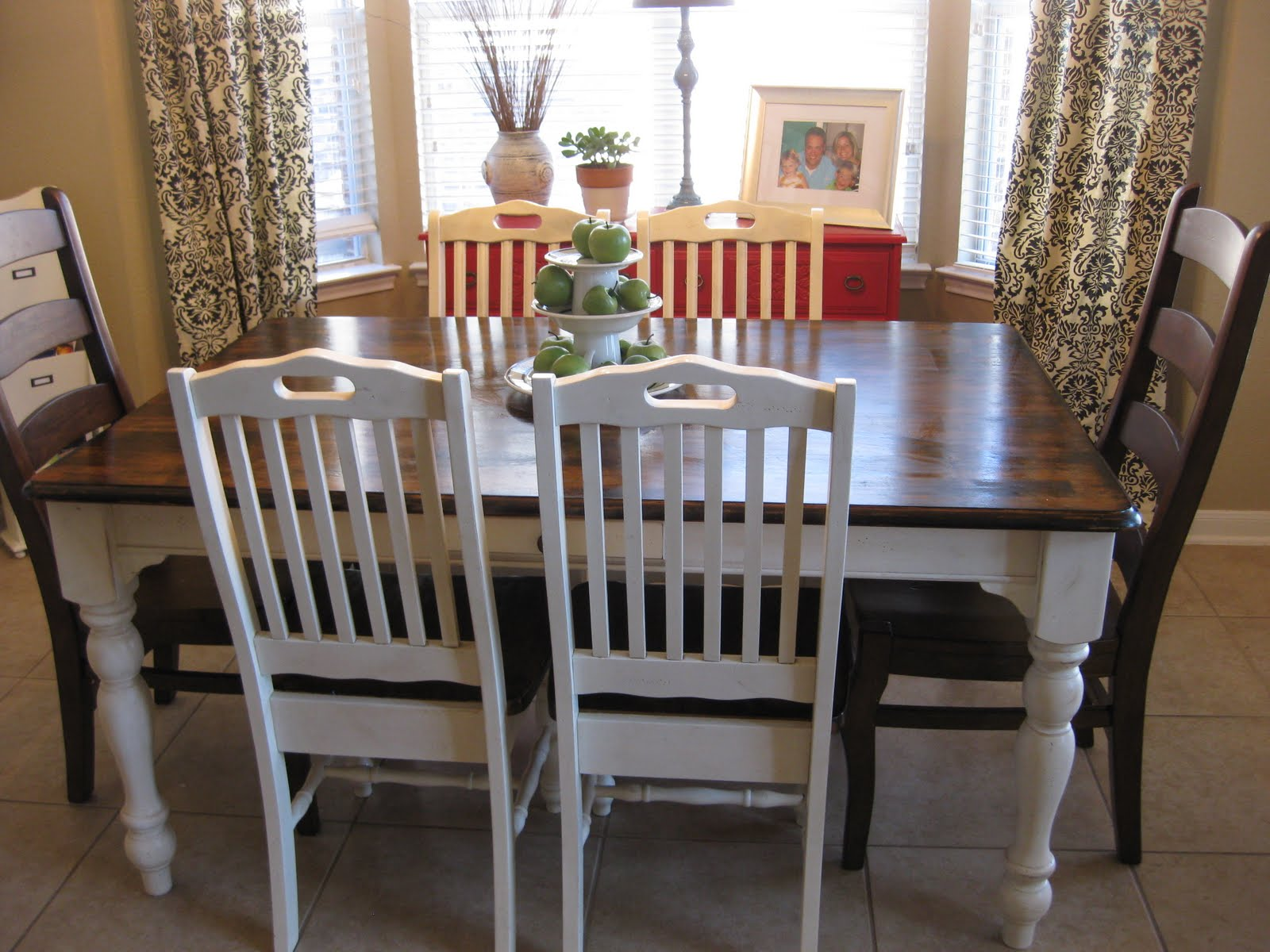 Old Kitchen Table Life love larson new old kitchen table staining workwithnaturefo