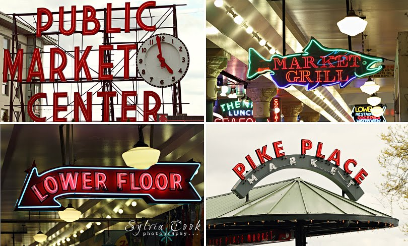pike place market,seattle,family photography