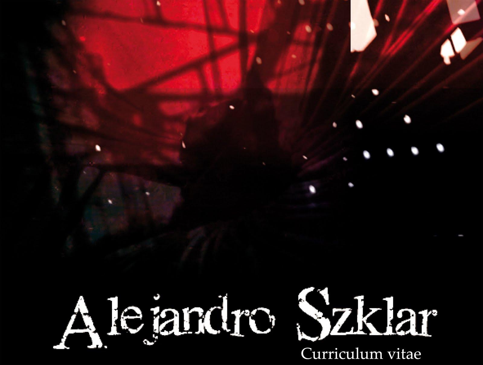 Curriculum Alejandro Szklar