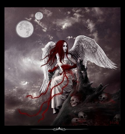 Gothic Love Pictures on Titled    There S An Angel On The Way   By Creedd