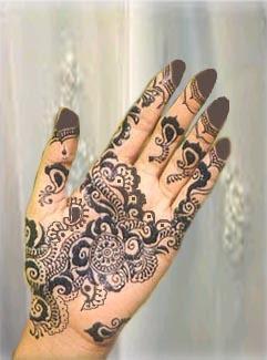 Heena mehandi design 1 Heena Designs