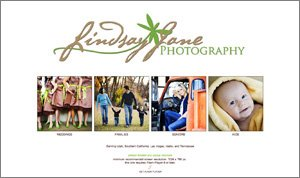 Lindsay Jane Photography Website