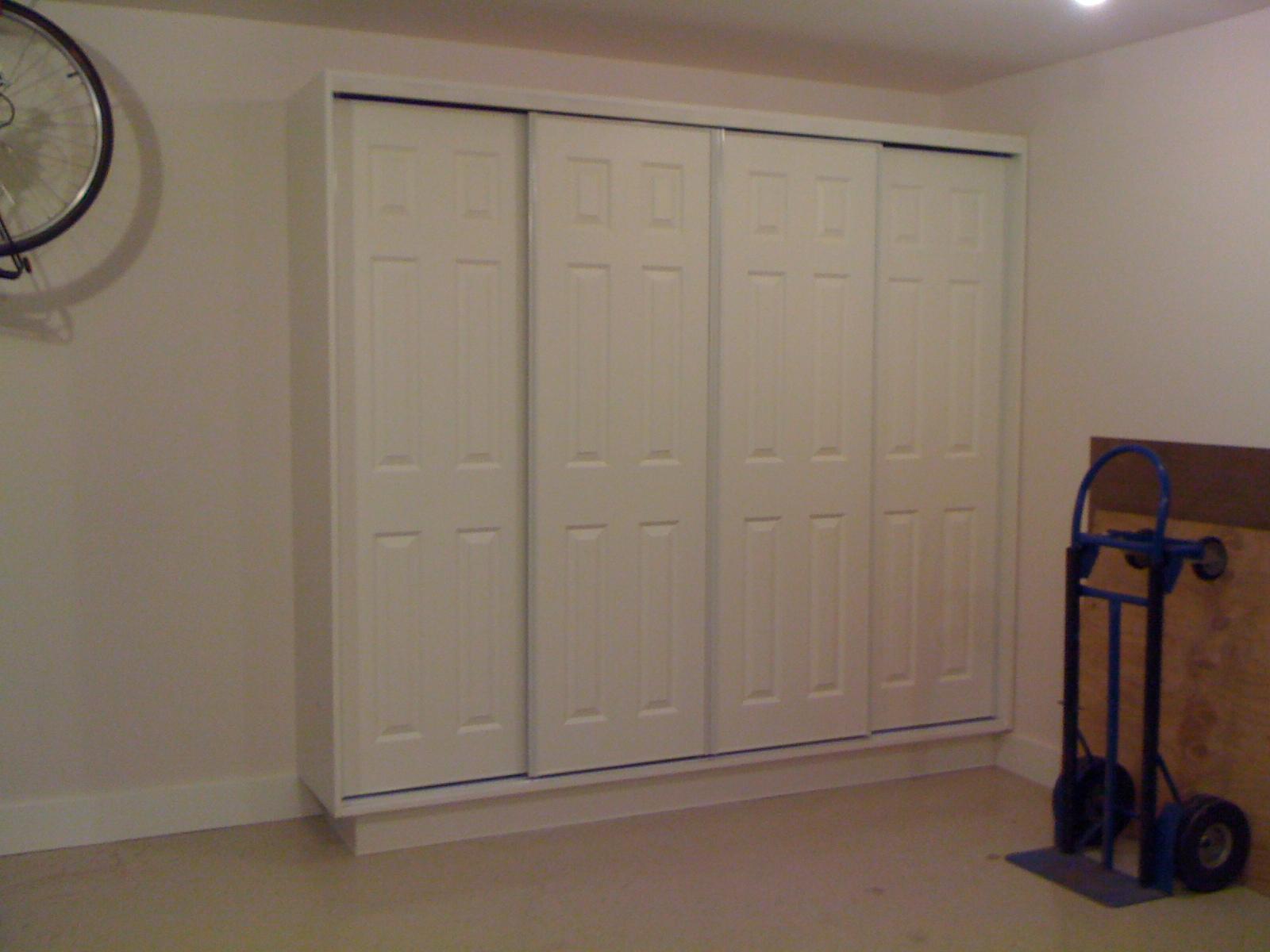 garage storage cabinet retro tech construction llc. Black Bedroom Furniture Sets. Home Design Ideas