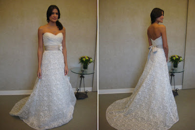southern wedding dress