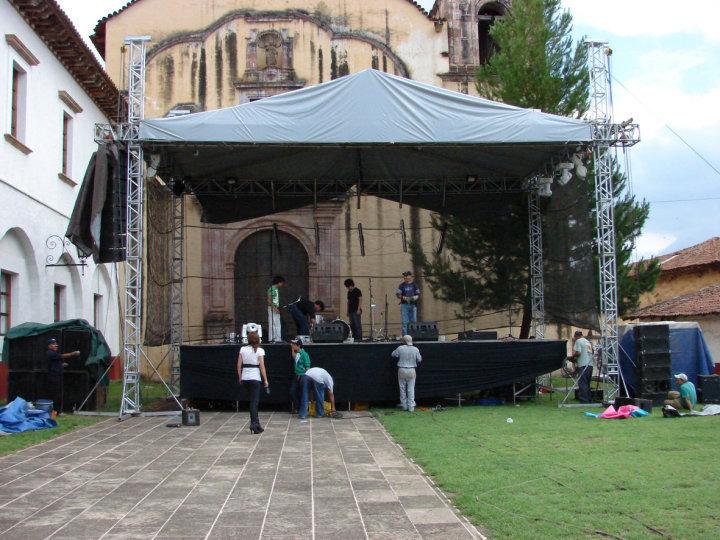 Escenario del Juatarhu Fest 2010