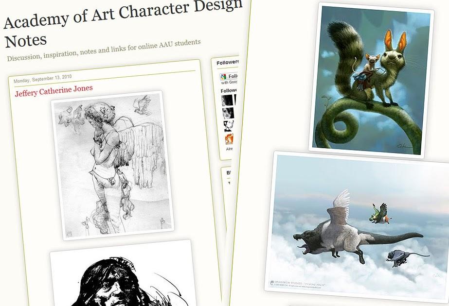Academy Of Character Design : Paperwalker academy of art character design notes