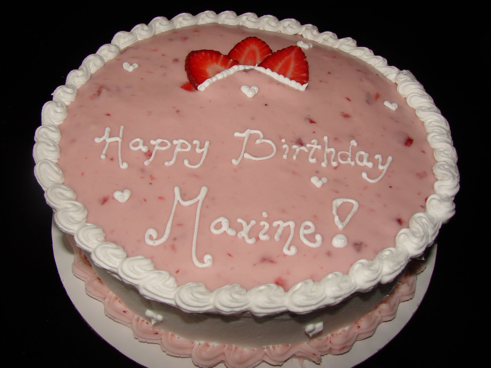 Cheat Day Happy Birthday Maxine
