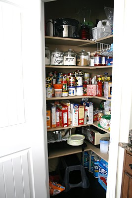 Decorganizing: Pantry