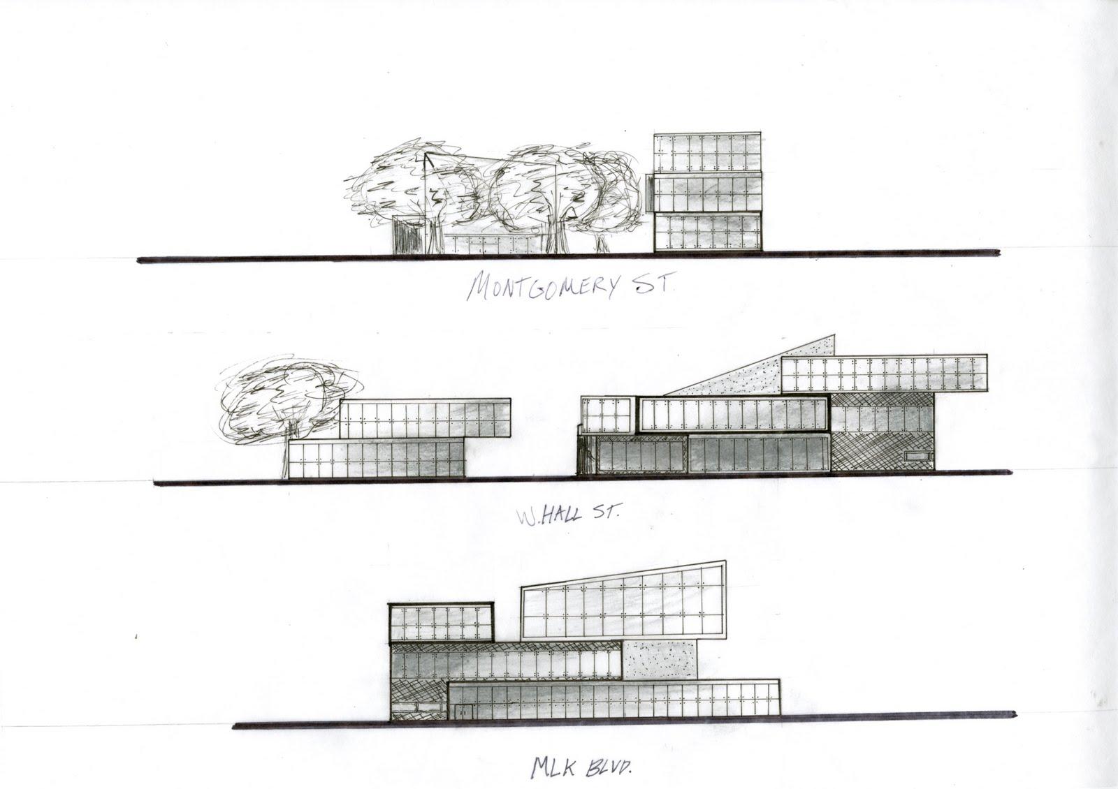 Architectural Facades Drawings Preliminary Facade Drawings