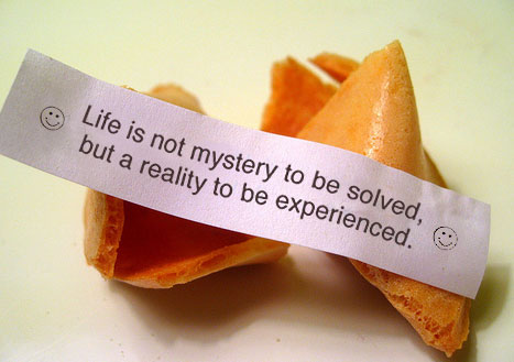 anonymously powerful: fortune cookies