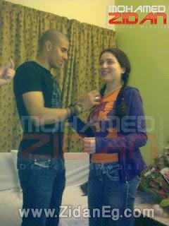 زيدان ومي عز الدين بعد الخطوبة