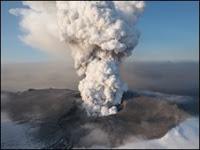 Gunung Meletus Islandia