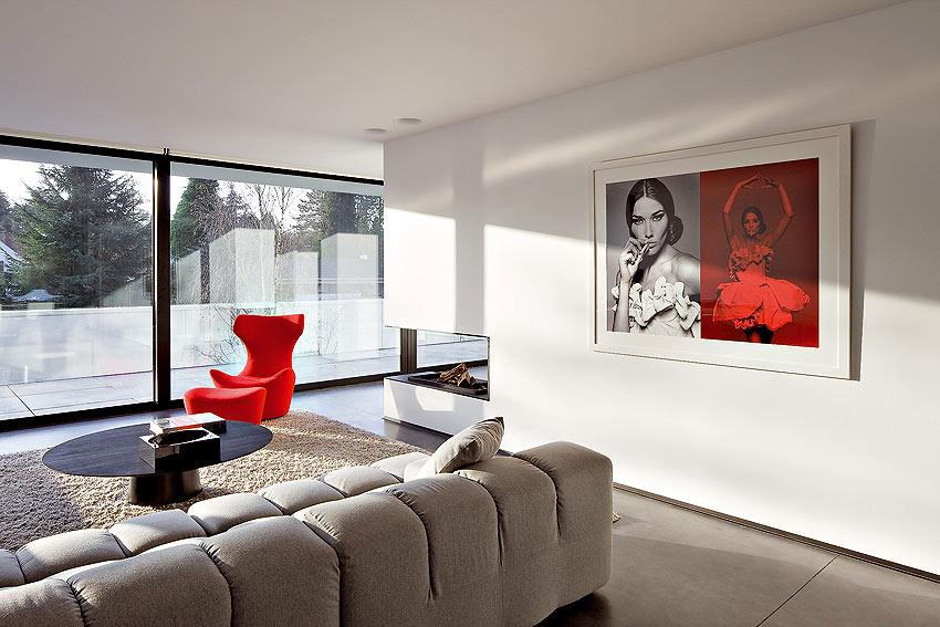 Elegante casa minimalista dise ada por bruno erpicum for Casa minimalista interior