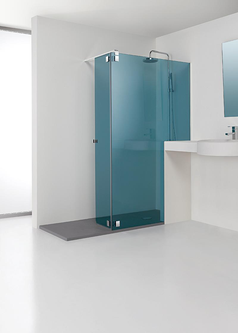 Mampara minimalista para ducha de profiltek - Profiltek mamparas de bano ...