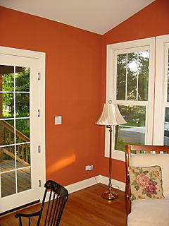 Making Your Home Sing: An Orange Bedroom?
