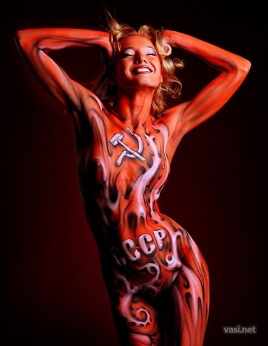 Celebrity Body Painting Art