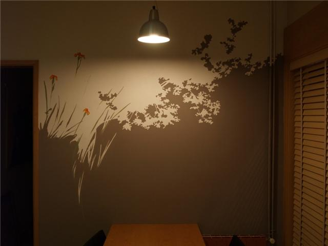 FOREST. acrílica sobre pared. particular