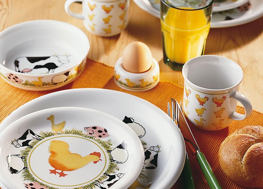 Piękna Porcelana Stołowa Porcelana Też Dla Dzieci