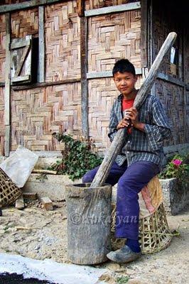 village near Barsey, Sikkim - travel photography by Sukalyan Chakraborty
