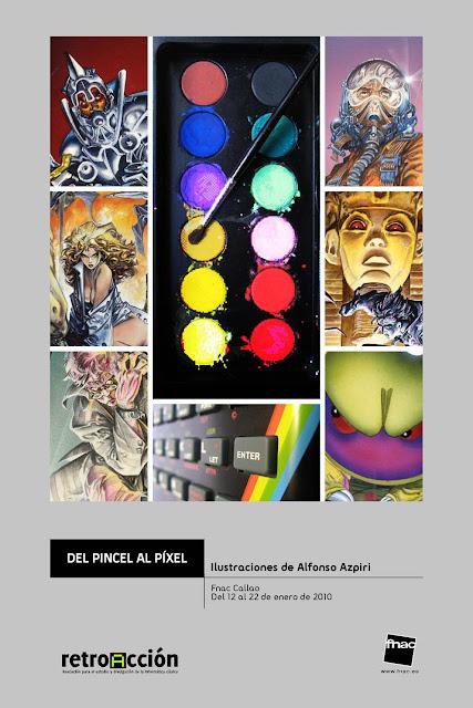 Exposición de Alfonso Azpiri en FNAC Callao