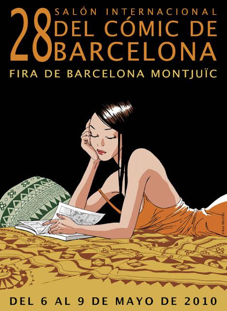 Ana Miralles - Cartel 28 salón del cómic de Barcelona
