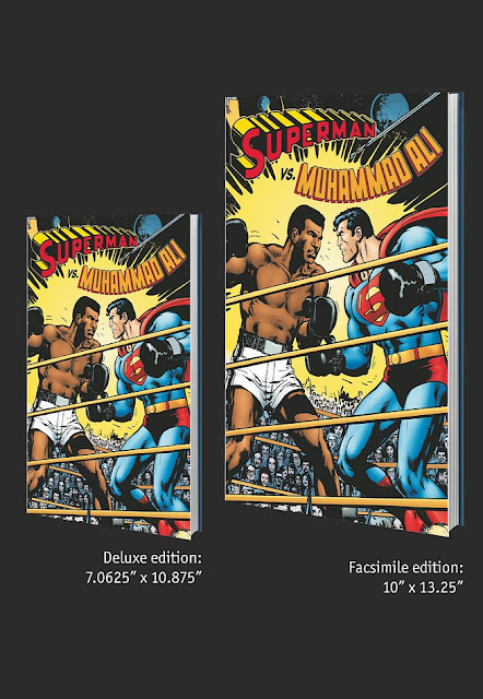 Superman vs Muhammad Ali - cómic portada