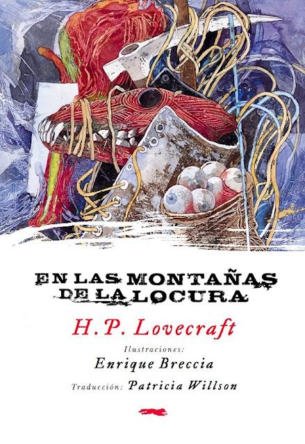 En las montañas de la locura - H. P. Lovecraft - Enrique Breccia