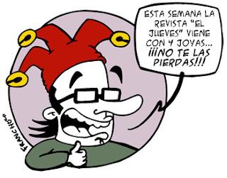 Franchu Llopis comicaire - El Jueves