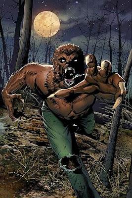 La Legión de los monstruos: Hombre lobo, de varios autores