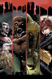 La legión de los monstruos Marvel