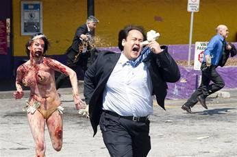 Hordas de zombis en Madrid