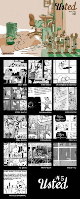 Fanzine Usted de Esteban Hernández y otros