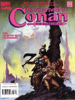 Conan de Roy Thomas y Esteban Maroto