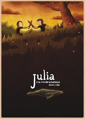 Julia y la voz de la ballena, de Álvaro Ortiz