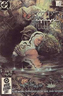 Swamp Thing Alan Moore Stephen Bissette John Totleben