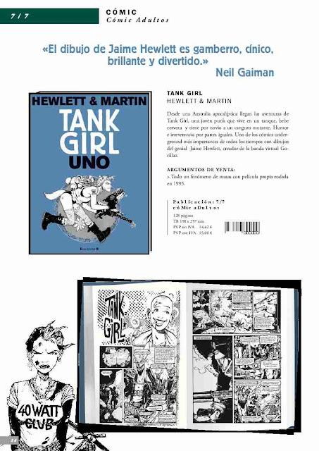 Tank Girl - Jamie Hewlett - Alan Martin - Ediciones B