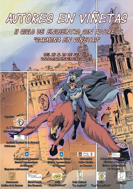 Autores en viñetas - Carmona en Viñetas