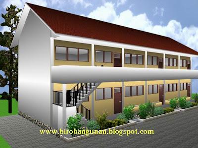 Desain Sekolah Dasar : KONSEP BANGUNAN SEKOLAH BERGAYA TROPIS
