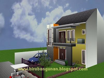 desain rumah natural